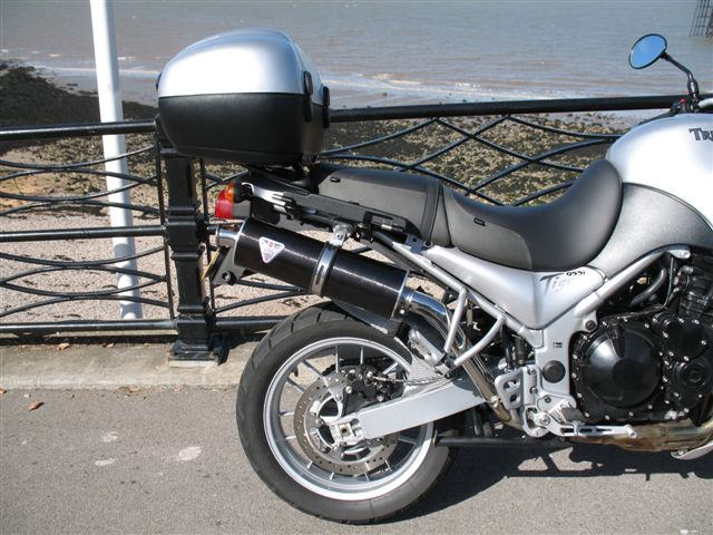Tiger 955 Trident Exhausts